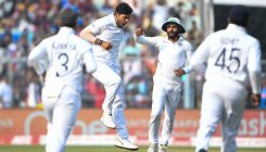 Day/night Test: India 35/1 at tea vs Bangla's 106
