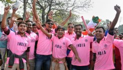 Pink fever grips Eden Gardens as India embrace D/N Test