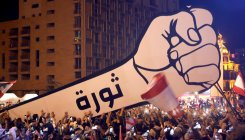 Lebanon protesters celebrate 'real' independence day