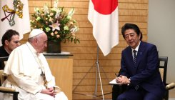 Pope urges nuclear disarmament during Japan visit