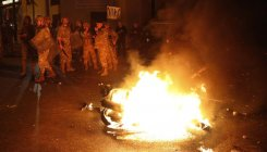Clashes, gunfire in Lebanon in second night of violence
