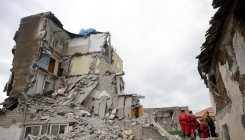 Use of drones, dogs to search Albanian quake victims