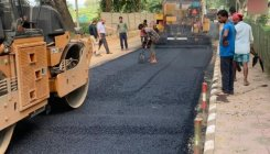 Military engineers use waste plastics to construct road