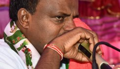 Our family has a patent on crying: H D Kumaraswamy