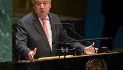 UN chief asks countries to not give up on climate fight