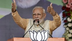Modi attacks Cong over Article 370 and Ayodhya verdict