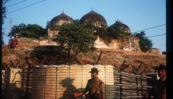 Tight security ahead of Babri demolition anniversary