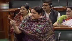'Is it my fault that I'm a woman MP and spoke in LS?'