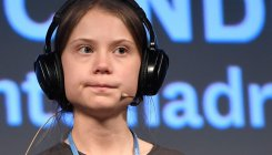 Thunberg urges climate action as 'people are dying'