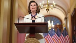 Trump impeachment going ahead: Pelosi