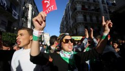 Huge protest days ahead of contentious Algeria vote
