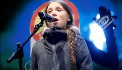 Thunberg brings climate protest to UN climate summit