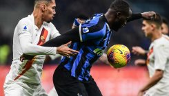 Inter held by Roma after racism storm
