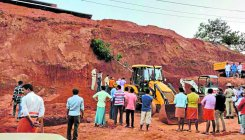 Three labourers killed as soil caves in