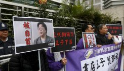 Hong Kong's leader unbowed after massive weekend protes
