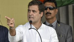 J'khand polls:Rahul promises 'jal,jungle,jameen'