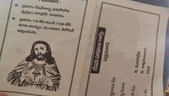 Ration card with Jesus photo in Andhra sparks row