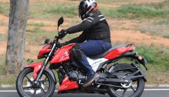 TVS Apache RTR 4V series: Sizzling performers