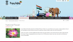 MEA controversy: Is lotus the national flower?