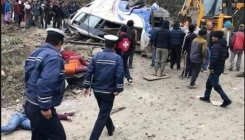 14 killed, 18 injured after bus veers off road in Nepal