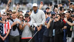 Tiger Woods' US wins Presidents Cup