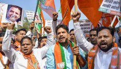 BJP takes out march against Rahul's Savarkar barb