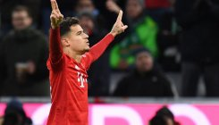 Coutinho hits hat-trick in Bayern rout, Leipzig go top