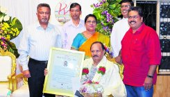 Konkani writer gets 18th Konkani Kutam Bahrain award