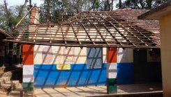 Siddapura: Govt school building cries for attention