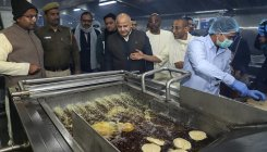 Sisodia inaugurates kitchen to provide midday meals