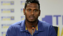 Sri Lanka names Mathews in T20 squad to tour India