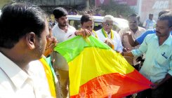 N-K activists' attempt to hoist separate flag foiled