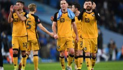 Man City ease past Port Vale, United and Wolves draw