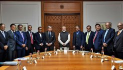 PM meets India Inc heads to discuss economy