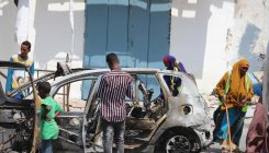 Four killed in car bombing near Somalia parliament