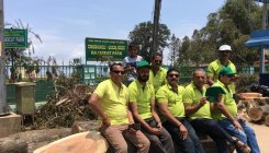 Raja Seat: Protest against felling of trees