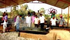 With sugar factory gone, farmers turn to jaggery
