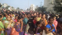 Garment workers in Mysuru protest against alleged abuse