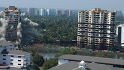 Hundreds of buildings face demolition threat in Kerala