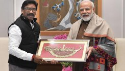 Jharkhand CM Hemant Soren calls on PM