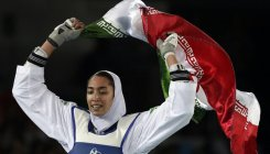 Iran's sole female Olympic medallist Alizadeh defects