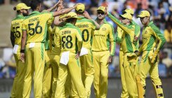 Australia bowl out India for 255 in 1st ODI