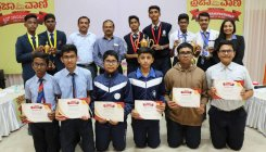 SVM students win DH-PV Quiz in Hassan