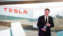 Musk nears $346 mn payday as Tesla's market value soars