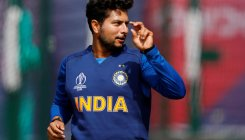 Kuldeep Yadav takes 100 wickets in 58th match