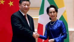 China's Xi vows 'new era' of Myanmar ties after welcome