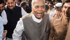 Centre standing on brink of bankruptcy: Yashwant Sinha