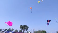 International kite festival begins in Belagavi