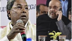 Siddaramaiah attacks Shah over K'taka floods, shootout