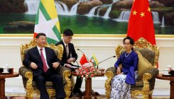 Xi vows to bolster ties with Myanmar to 'new level'